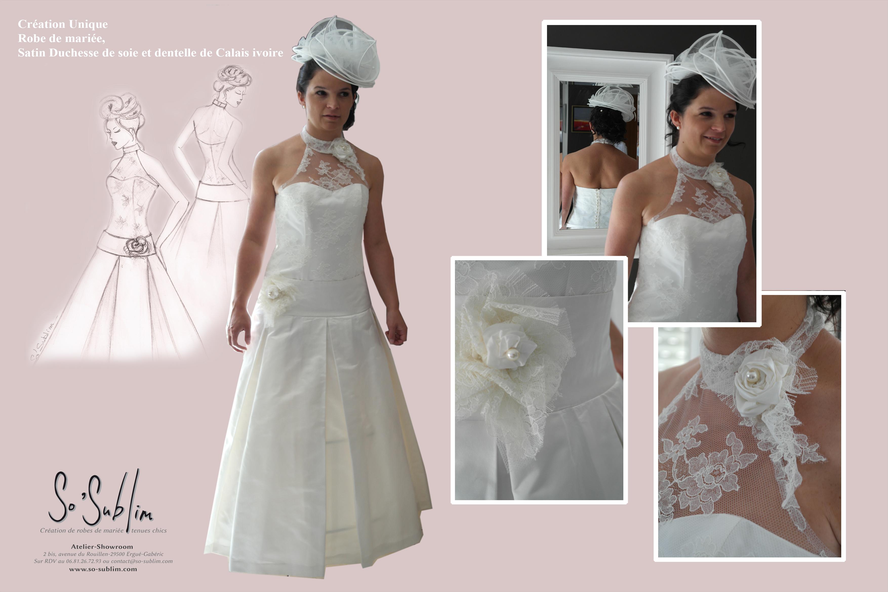 Conception jeu de robe de mariage  Peinture